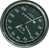 New Replica Black Smiths Speedo Meter 0-120 Mph Bsa Royal Enfield Norton Triumph