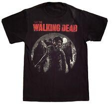 AMC The Walking Dead 2012 Shirt Black Unisex Small Zombies Walkers Moon RARE