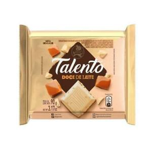 Garoto Talento White Chocolate with Dulce de Leche 90gr - Chocolate Branco com D