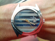 Aseikon DE LUXE VINTAGE 720103-40 WATCH MECHANICAL JAPAN MADE FOR PARTS-REPAIR