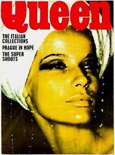 VERUSCHKA Helmut Newton DON McCULLIN Benedetta Barzini KEN SCOTT Queen magazine