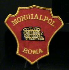 Retired, Inhouse Security Patch: Mondialpol Roma Security, Rome Italy