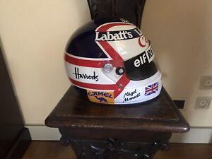 Casco di Nigel Mansell con autografo
