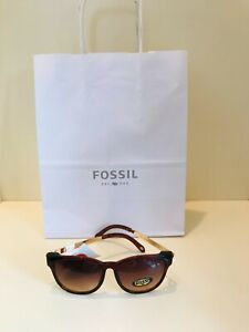 NEW FOSSIL SUNGLASSES WITH FOSSIL GIFT BAG