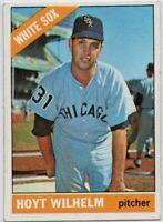 1966 Topps #510 Hoyt Wilhelm EX-MT+ Chicago White Sox FREE SHIPPING