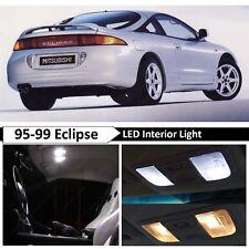 1995-1999 Mitsubishi Eclipse White Interior LED Lights Package Kit