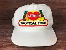 Vintage Del Monte Tropical Fruit Golf Hat K Products USA