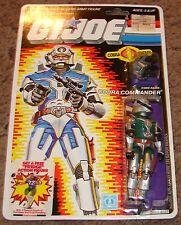 Vintage GI JOE Cobra Commander Battle Armor Figure MOC Carded