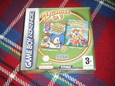 2 Jeux Neuf GBA  Sonic Pinball + Columns Crown Game Boy Advance SP