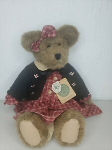 """Vintage Retired Boyd's Bears 17"""" Lisa T Bearringer The Archive Collection w/ tag"""
