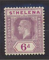 St. Helena Stamp Scott #72, Mint Hinged