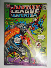 Justice League #36, Disabled Jla, Fine+, 6.5, White Pages