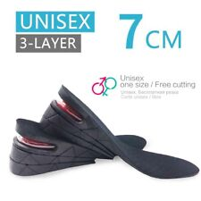 Lifted Supportive Comfort Sole Raiser 3-Layer Air up Height Increase 2.75 Inch