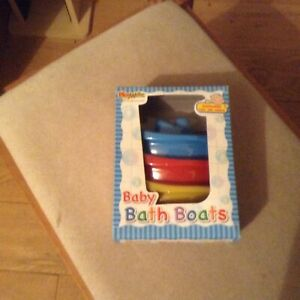 Baby bath boats (3 in a pack)