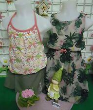 vêtements occasion fille 6 ans,robe H et M,top dos nu,jupe
