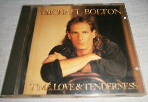 Michael Bolton - Time, Love & Tenderness (1991) CD ALBUM COLUMBIA / SONY 4678122