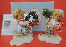Cherished Teddies Erik & Inga Couple W/Gifts Figurine 4005477-Laplander Series