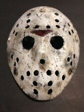 Custom Jason Voorhees Friday The 13Th Type Mask Halloween Horror Costume