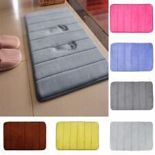 Bath Mat Bathroom Carpet Rug Coral Fleece Memory Foam Bathroom Mat Kitchen Door
