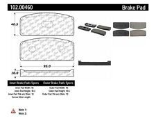 Disc Brake Pad Set fits 1960-1971 Renault Dauphine R10 R8  C-TEK BY CENTRIC