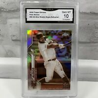 2020 Topps Chrome Pete Alonso #80 Sepia Refractor NEW YORK METS GMA Gem Mint 10
