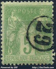 FRANCE SAGE N° 106 OBLITERATION JOUR DE L'AN N°29 ENCERCLE