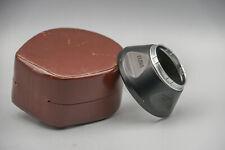 Voigtlander 310/32 32mm Push On Lens Hood Black + Original Case
