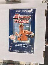 2012 BOWMAN DRAFT PICKS & PROSPECTS  BASEBALL FACTORY SEALED HOBBY BOX