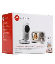Motorola MBP667 Connect Digital Video Color Screen Baby Monitor with Wi-Fi, 2.8""