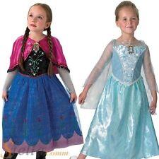 Chicas Frozen Musical Disfraz Princesa Disney disfraz con luz Traje De Niño