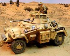 The Collectors Showcase Afrika Korps CS00575 DAK SdKfz 222 Armored car MIB