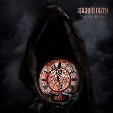 """SACRED OATH """"Twelve Bells"""" DIGI-CD (Queensryche Metallica Priest) NEW & SEALED"""