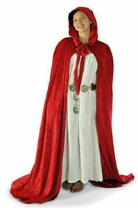 Cape, Cloak, Unlined Medieval Vampire Costume, Witch Medieval Cosplay Goth