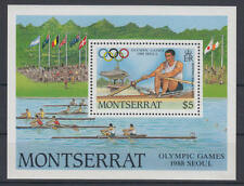 Montserrat - Michel-Nr. 709 als Block 49 postfrisch/**  (Olympiade / Olympic Gam
