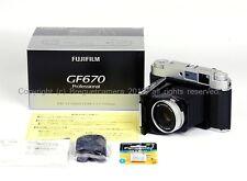 New Fuji/Fujifilm GF670 Rangefinder Folding 6x6/6x7 Silver bessa III