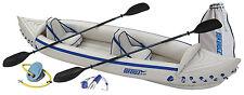 Sea Eagle 370 PRO Kayak Canoe + Pump + Oars + MORE!