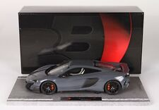 BBR McLaren 675LT Chicane Grey 1:18 LE 112pcs*Nice Color!*NEW FRESH STOCK!