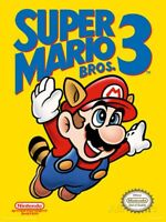 Super Mario Bros. 3 Nintendo Nes Tested Cart Only Authentic