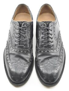 RARE SPADE SOLE | COLE HAAN 10.5D TRAFTON WINGTIP BLACK DRESS SHOES ITALY