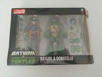 DC Batman vs Teenage Mutant Ninja Turtle TMNT Batgirl & Donatello 2-Pack