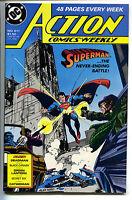 Action Comics 611 DC 1988 NM Superman Black Canary Green Lantern Catwoman
