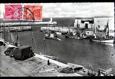 LA FLOTTE / ILE DE RE (17) CITROEN 2CV BATEAUX de PECHE au PORT Timbre taxe 1958