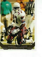 LARRY CENTERS SIGNED 1993 TOPPS GOLD #36 - ARIZONA CARDINALS