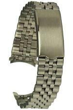Edelstahluhrband Jubilee-Style Rundanschluss 18 mm Ersatzband Uhrband