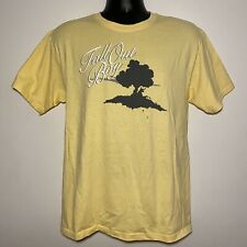 Fall Out Boy Concert Merch Graphic Tree Tee Yellow (Medium)