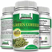 Coffee Bean Extract w/GCA's Increases Energy for Weight loss & Fat Burning