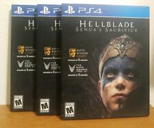 Hellblade: Senua's Sacrifice PlayStation 4 PS4 / with SLIP COVER - BRAND NEW!