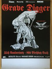GRAVE DIGGER 2016 TOUR  - orig.Concert Poster  --  Konzert Plakat  A1 NEU