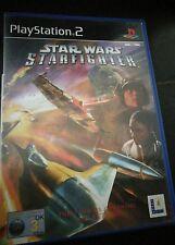 Star Wars Starfighter Sony Playstation 2 PS2 juego BOXED PAL Lucas Arts