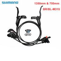 SHIMANO BR-BL-M315 Hydraulic Brake MTB Bike Disc Set Front and Rear Black New